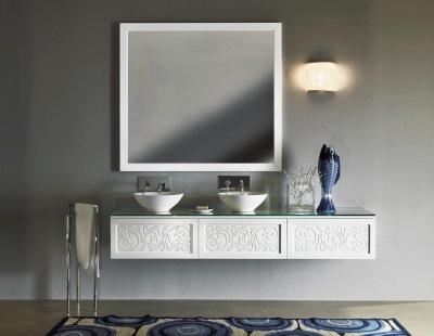 Резная итальянская мебель для ванной