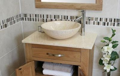 Размеры накладных раковин для ванной