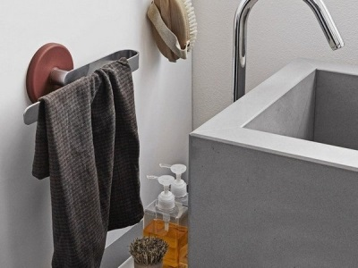 Дизайн вешалок для полотенец в ванной