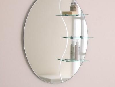 Советы по выбору зеркала с полкой для ванной комнаты