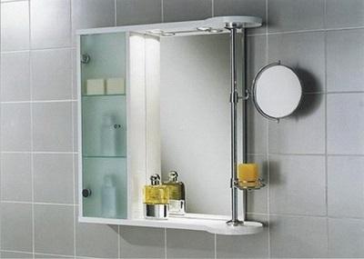 Недостатки зеркал с полками