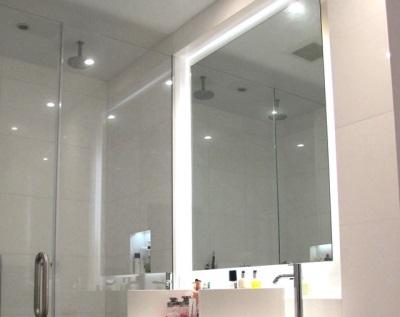 Подключение подсветки зеркала в ванной к электричеству
