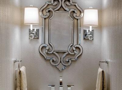 Бра для ванной в стиле модерн