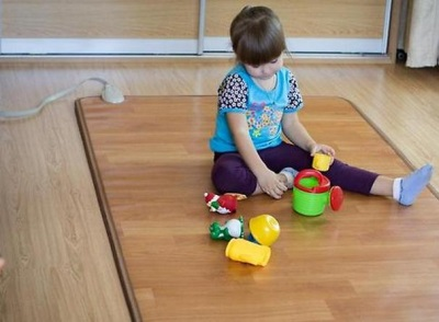 Детский коврик для ванной с подогревом