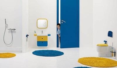 Детский коврик для ванной