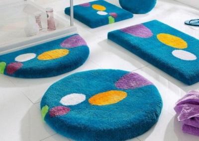 Детские коврики для ванной из полиэстера
