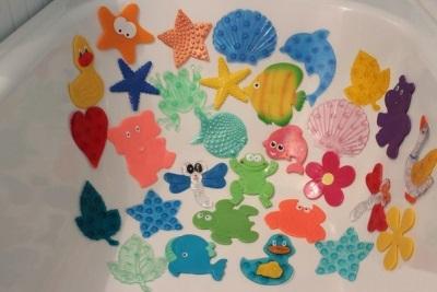 Мини-коврики для детей в ваннкую