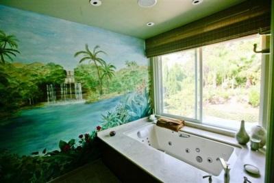 Влагостойкость фотообоев для ванной
