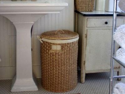 Советы по выбору корзины для белья для ванной комнаты