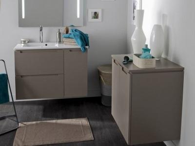 Качество  мебели от Леруа Мерлен для ванной комнаты