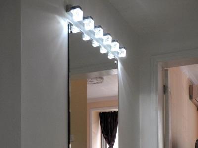 Светодиодные настенные светильники в ванную