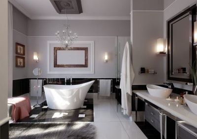 Классификация настенных светильников для ванной
