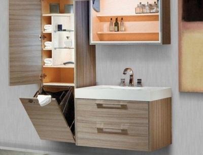 Требования к пеналу с корзиной для белья в ванной комнате