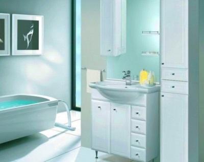 Мебель для ванной комнаты  от российской марки Аквалайф