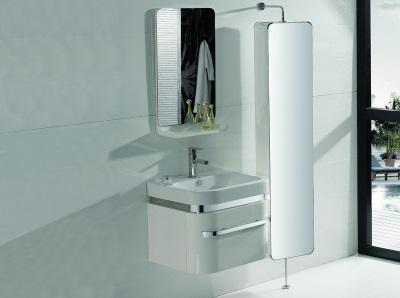 Вращающийся шкаф-пенал для ванной комнаты