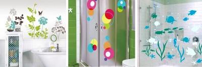Штора для ванной своими руками, под ванну, декор раздвижных пластиковых штор