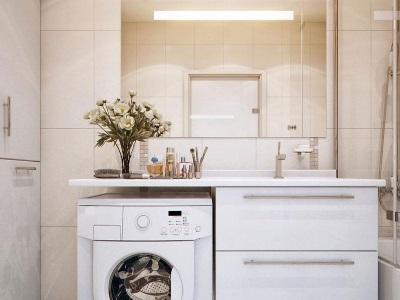 Особенности монтажа столешницы для ванной комнаты