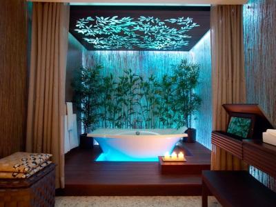 очень красивая ванная с подсветкой