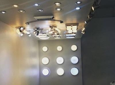 Типы точечных влагозащищенных светильников в ванную комнату