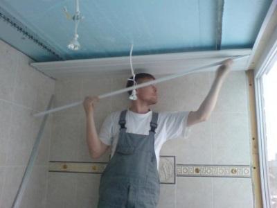 Установка точечных влагозащищенных светильников в ванную