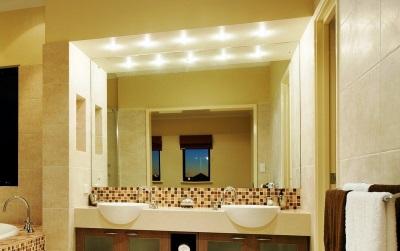 Требования ко встроенным светильникам в ванной комнаты