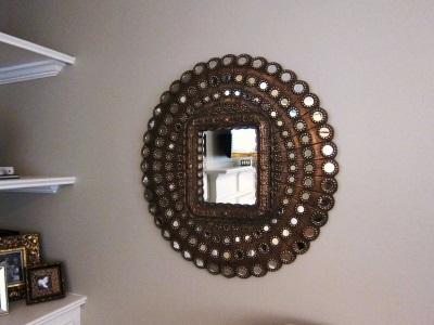 Зеркало ручной работы для ванной комнаты