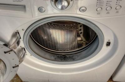 Плесень на резиновых элементах стиральной машины