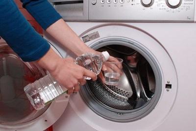 9% уксус для чистки стиральной от накипи