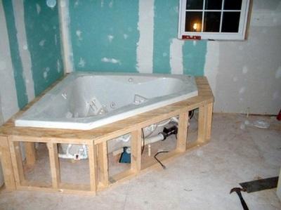 Советы по установке ванны