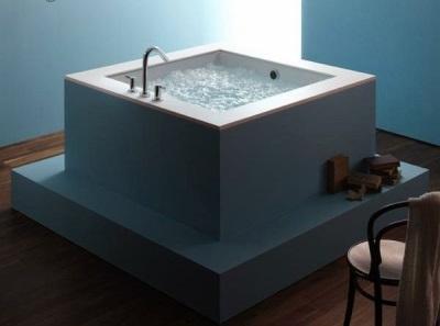 Популярные размеры квадратных ванн