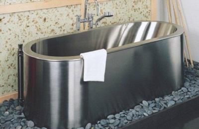 Стальная овальная ванна