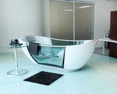 Ванна комбинированная со стеклом