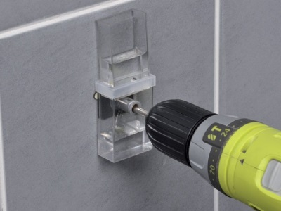 Технология сверления кафельной плитки в ванной