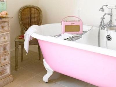 Декоративные элементы для ретро ванной