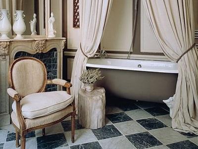 Советы по дизайну ванной комнаты в ретро стиле
