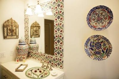 Турецкий стиль в ванной комнате