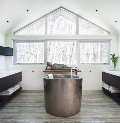 Ванны из нержавеющей стали для ванной в японском стиле