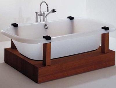 На что влияет вес акриловой ванны?