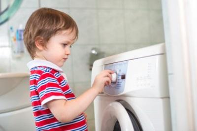 Дети и стиральная машина