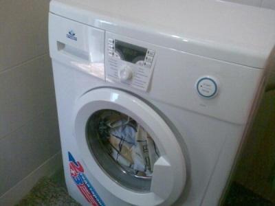 Белье осталось в стиральной машинке при отключении электроэнергии