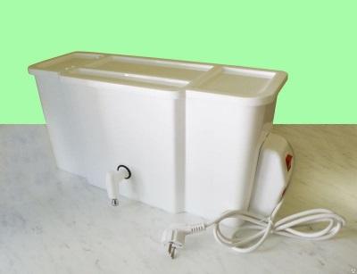Дачный умывальник с подогревом воды и его безопастность