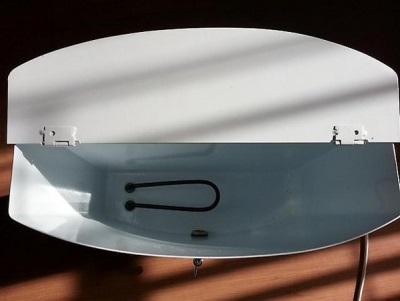 Нагревательный элемент дачного умывальника с подогревом воды и его мощнность