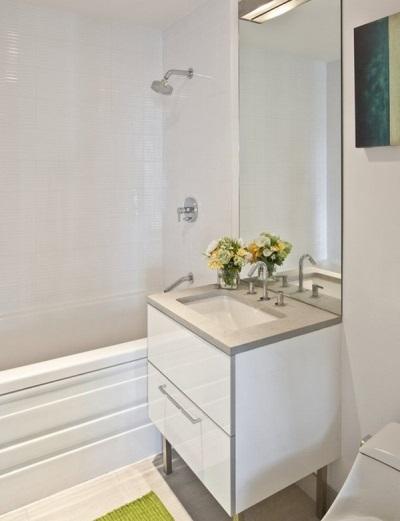 """Напольная тумба с раковиной и зеркалом для ванной - """"умывальник-мойдодыр"""""""