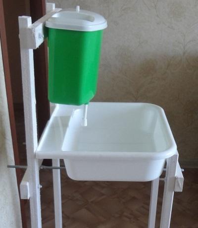 Умывальник для дачи без подогрева воды