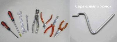 Инструменты, чтобы отремонтировать стиральную машину