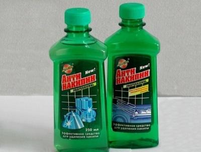 Жидкий антинакипин для стиральной машины