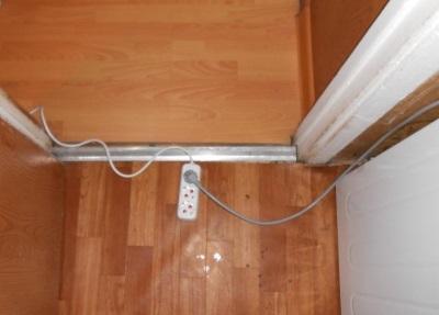 Сетевой удлинитель для стиральной машины