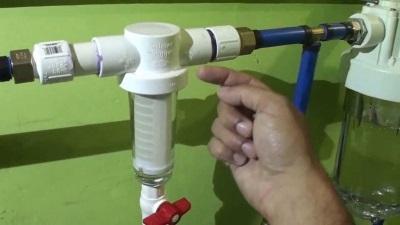 Водный фильтр для смягчения воды поступающей в стиральную машину
