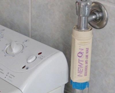 Фильтр глубокой очистки на заливной шланг стиральной машины