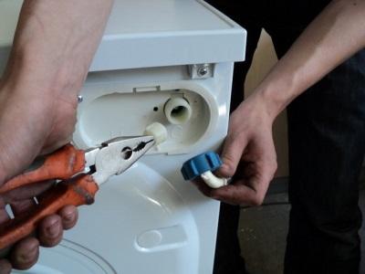Чистка заливного фильтра в стиральной машине